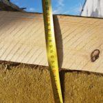 isolamento tetto - 20 cm lana di roccia